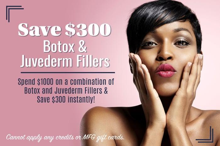 BC- Botox juvederm special