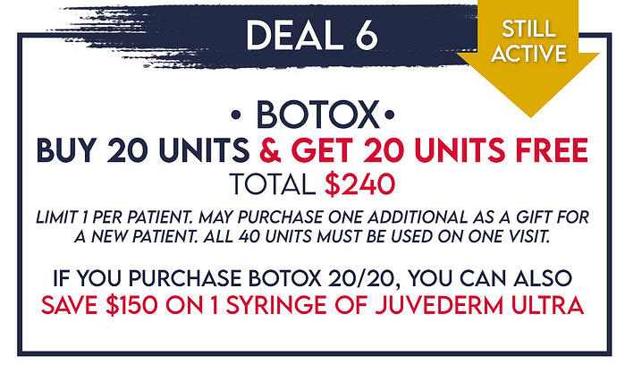 BC- black friday6 Botox and juvederm updated