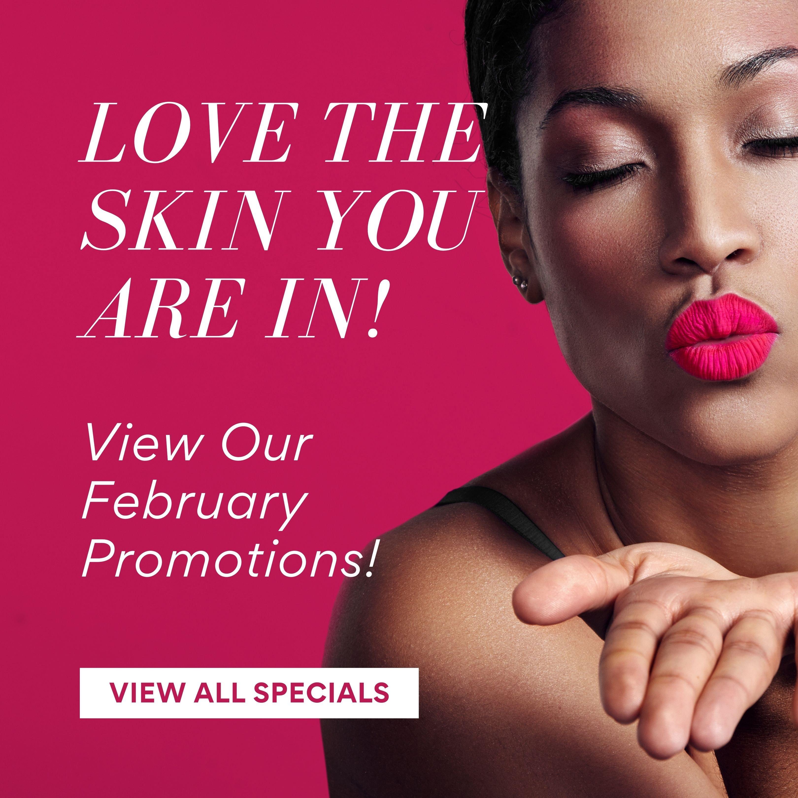 February Homepage Promos