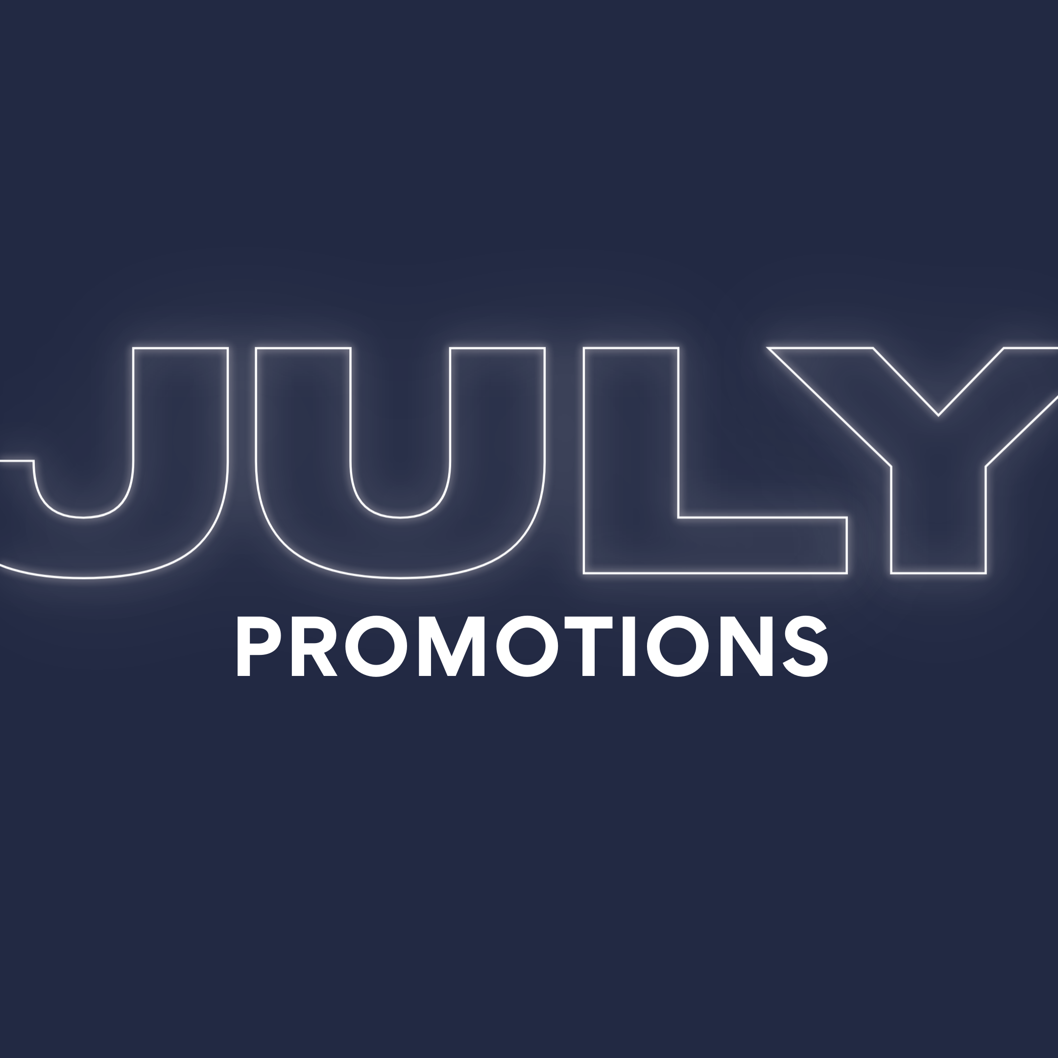 July Promos Square
