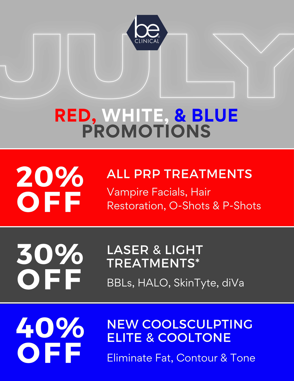 July Promos